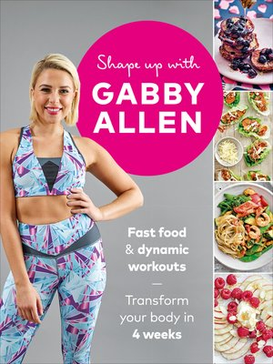 cover image of Shape Up with Gabby Allen