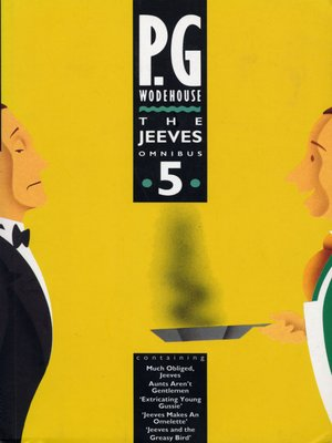 cover image of The Jeeves Omnibus - Vol 5