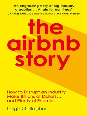 cover image of The Airbnb Story