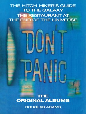 cover image of The Hitchhiker's Guide to the Galaxy, The Original Albums