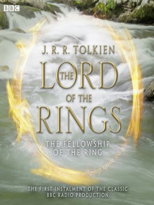 cover image of The Lord of the Rings, the Fellowship of the Ring