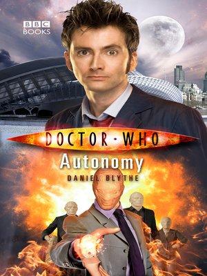 cover image of Autonomy