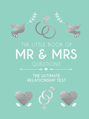 cover image of The Little Book of Mr & Mrs Questions