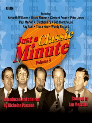 cover image of Just a Classic Minute  Volume 3
