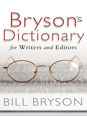cover image of Bryson's Dictionary