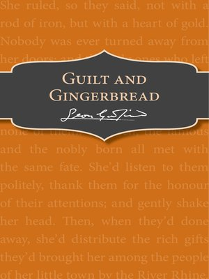 cover image of Guilt and Gingerbread
