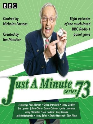 cover image of Just a Minute, Series 73