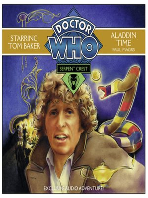 cover image of Doctor Who Serpent Crest 3--Aladdin Time