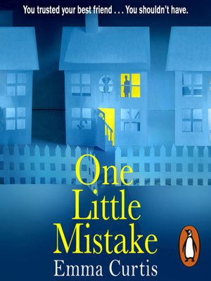 cover image of One Little Mistake