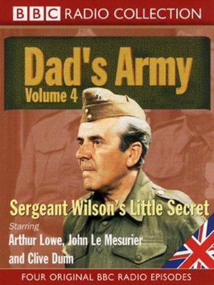 cover image of Sergeant Wilson's Little Secret