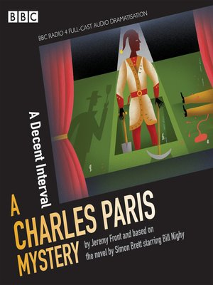 cover image of Charles Paris, A Decent Interval
