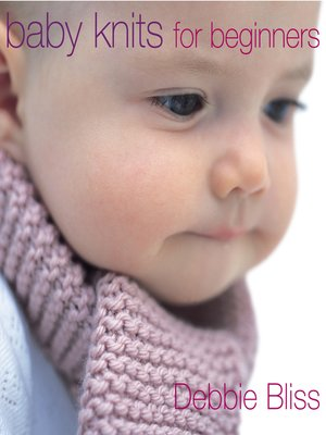 cover image of Baby Knits For Beginners