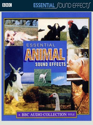 cover image of Essential Animal Sound Effects