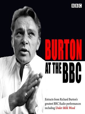 cover image of Burton at the BBC