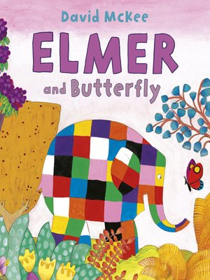 cover image of Elmer and Butterfly