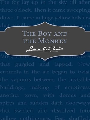 cover image of The Boy and the Monkey