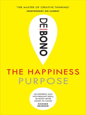 cover image of The Happiness Purpose
