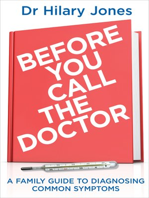 cover image of Before You Call the Doctor
