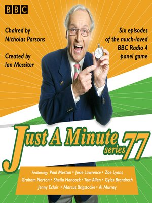 cover image of Just a Minute, Series 77