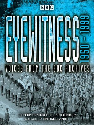 cover image of Eyewitness 1950-1999