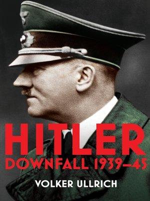 cover image of Hitler, Volume 2