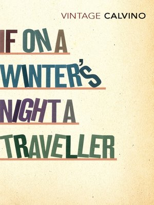 cover image of If On a Winter's Night a Traveller