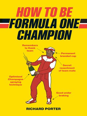 cover image of How to be Formula One Champion