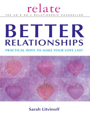 cover image of The Relate Guide to Better Relationships