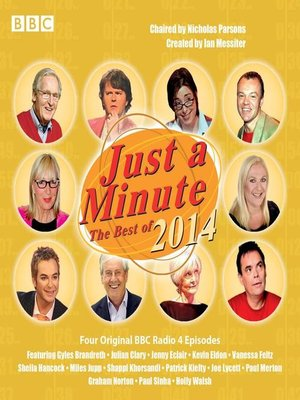 cover image of Just a Minute, The Best of 2014