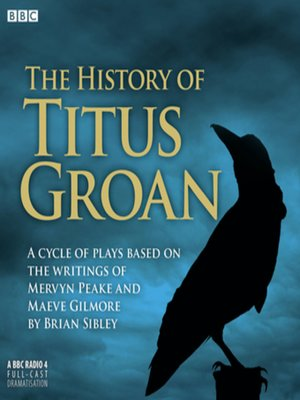cover image of The History of Titus Groan
