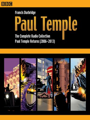 cover image of Paul Temple, The Complete Radio Collection, Volume 4
