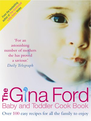 cover image of The Gina Ford Baby and Toddler Cook Book