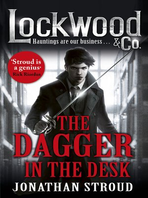cover image of The Dagger in the Desk