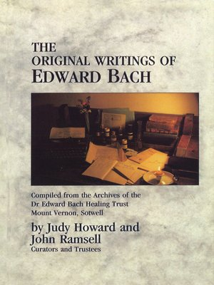 cover image of The Original Writings of Edward Bach