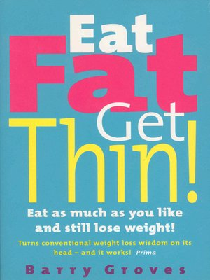 cover image of Eat Fat Get Thin!