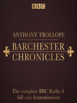 cover image of The Barchester Chronicles