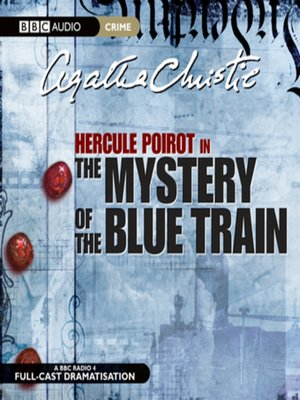 cover image of The Mystery of Blue Train