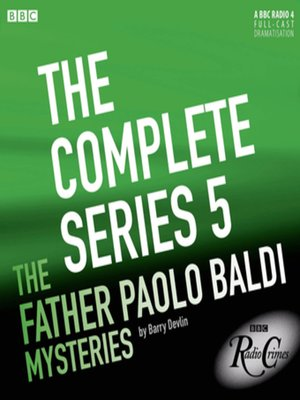 cover image of Father Paolo Baldi Mysteries  (Complete, Series 5)
