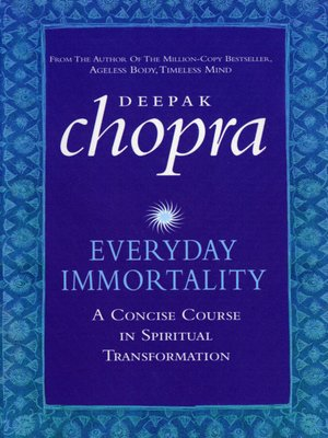 cover image of Everyday Immortality