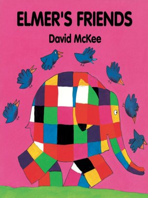 cover image of Elmer's Friends