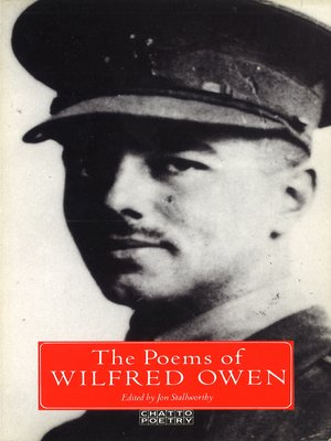 cover image of The Poems of Wilfred Owen