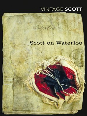 cover image of Scott on Waterloo