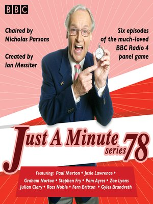 cover image of Just a Minute, Series 78