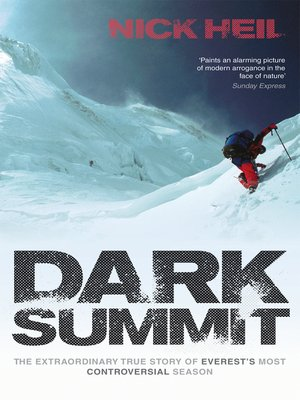cover image of Dark Summit