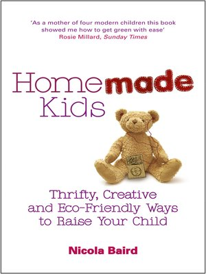 cover image of Homemade Kids