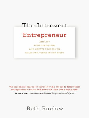 cover image of The Introvert Entrepreneur