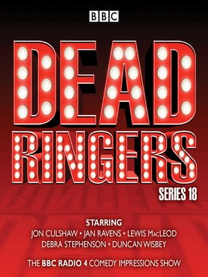 cover image of Dead Ringers--Series 18
