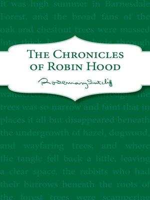 cover image of The Chronicles of Robin Hood