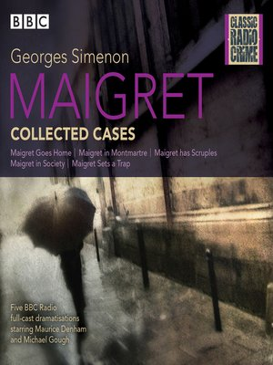 cover image of Maigret--Collected Cases