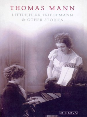 cover image of Little Herr Friedmann and Other Stories